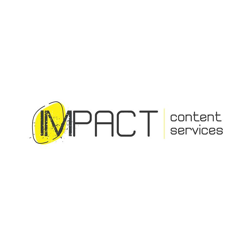 אימפקט שירותי תוכן לוגו